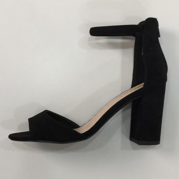 0196cfb88dc NEW ARRIVAL✨ LULUS Black Suede Open Toe Heels